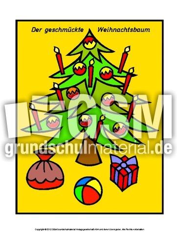 gedicht der geschmuckte weihnachtsbaum frohe weihnachten in europa. Black Bedroom Furniture Sets. Home Design Ideas