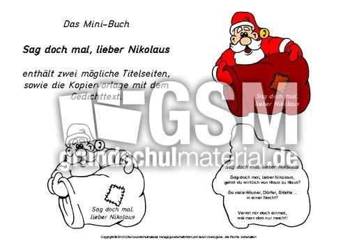 Mini-Buch-Nikolausgedicht-2 - Mini-Bu00fccher-Gedichte ...