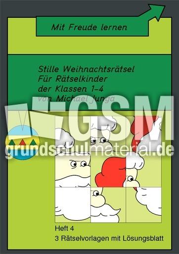 Stille Weihnachtsru00e4tsel -4 - Stille Weihnachtsru00e4tsel - Arbeitsblu00e4tter - Weihnachten - Feste und ...