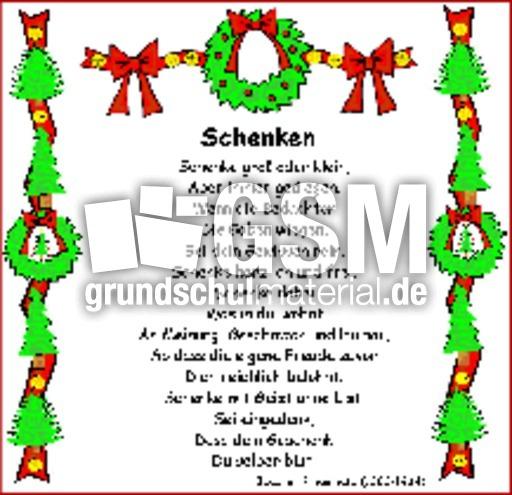 Schenken-Ringelnatz - Weihnachts-Gedichte - Gedichte im ...