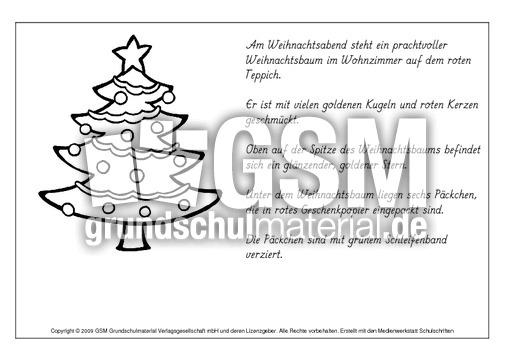 Lesen-und-malen-Weihnachten-1 - lesen und malen - Lese-Mal-Blätter ...