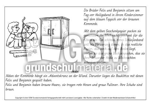 Lesen-und-malen-Weihnachten-4 - lesen und malen - Lese-Mal-Blätter ...