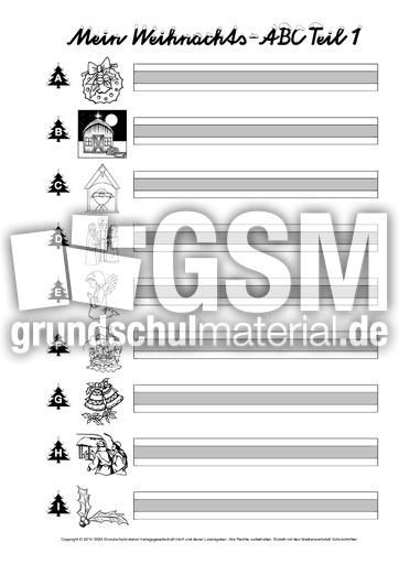 AB-Weihnachts-ABC-Wörter-einsetzen-graue-Mittellinie - Wörter ...
