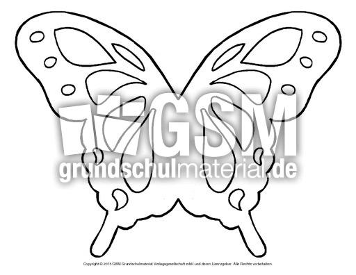 Schmetterling fensterbild fensterbilder fr hling for Bastelvorlage schmetterling kostenlos