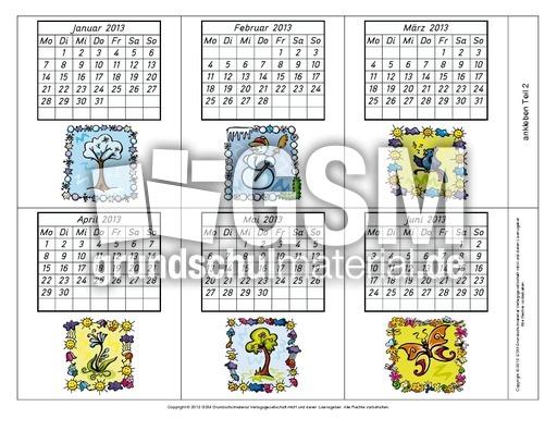 leporellokalender2013212 kalendermaterial2013