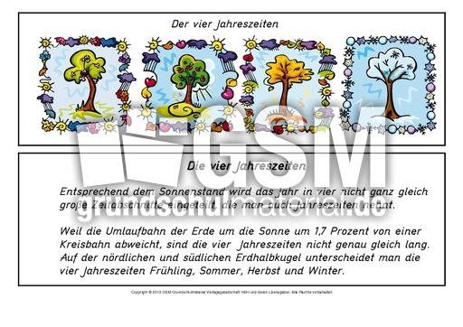 dievierjahreszeitenlesetext212  minibücher