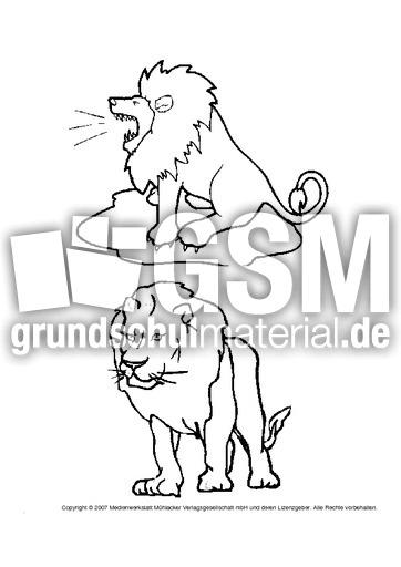Löwe Ausmalbilder 2 Ausmalbilder Löwen Themen Und Projekte