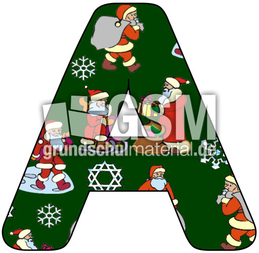 nikolaus deko buchstabe a nikolaus buchstaben jpg dekobuchstaben weihnachten feste. Black Bedroom Furniture Sets. Home Design Ideas