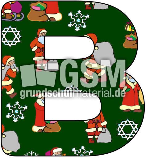nikolaus deko buchstabe b nikolaus buchstaben jpg dekobuchstaben weihnachten feste. Black Bedroom Furniture Sets. Home Design Ideas