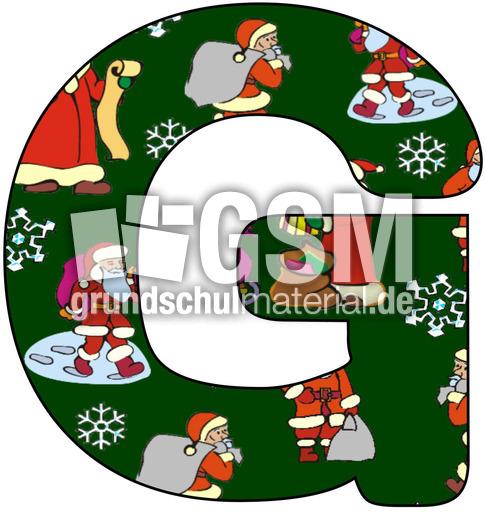 nikolaus deko buchstabe g nikolaus buchstaben jpg dekobuchstaben weihnachten feste. Black Bedroom Furniture Sets. Home Design Ideas