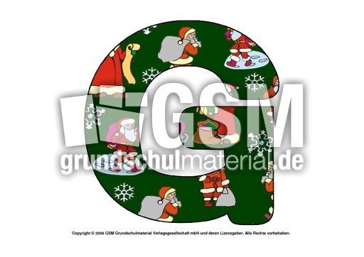 nikolaus deko buchstabe g nikolaus buchstaben pdf dekobuchstaben weihnachten feste. Black Bedroom Furniture Sets. Home Design Ideas