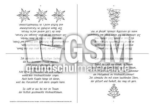 faltbuch der geschm ckte weihnachtsbaum sw faltb cher. Black Bedroom Furniture Sets. Home Design Ideas