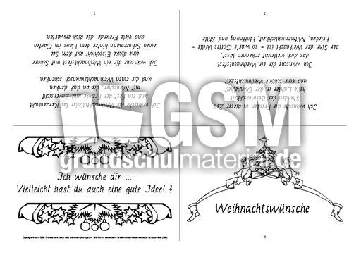 faltbuch weihnachtsw nsche sw faltb cher gedichte. Black Bedroom Furniture Sets. Home Design Ideas