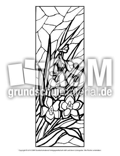 Ausmalbild Blumen Mosaik 14 Ausmalbilder Mosaik Blumen Frühling