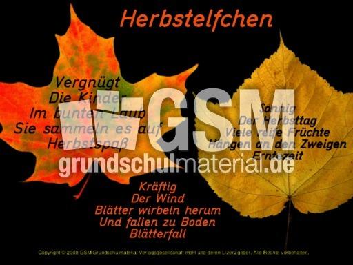 Herbstelfchen Von Kindern Herbstelfchen Leporellos Herbst