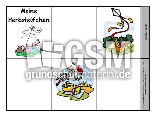 Leporello Fur Herbstelfchen 6 Herbstelfchen Leporellos Herbst
