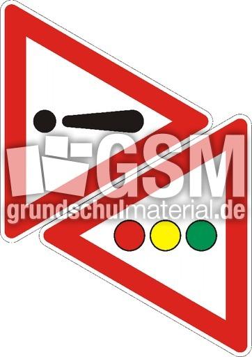 Achtung-Ampel - Bildmaterial - Verkehrszeichen ...