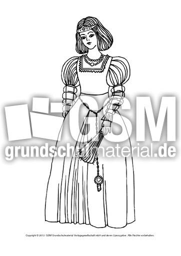 Ausmalbilder Mittelalter Menschen C 1 12 Ausmalblätter Mittelalter