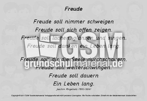 Freude-Ringelnatz - Gedichte-Texte - Gedichte-Werkstatt