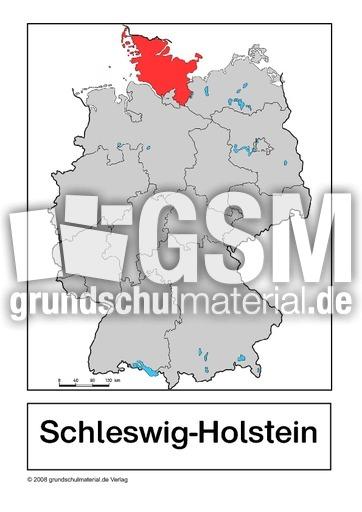 schleswig holstein bundeslandkarten bundesrepublik deutschland erdkunde sachthemen hus. Black Bedroom Furniture Sets. Home Design Ideas