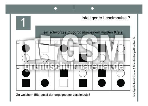 Intelligente Leseimpulse 7 - Leselernvorlagen - Maxi ...