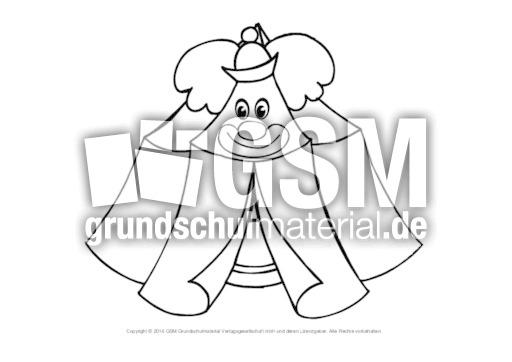 Ausmalbild Zirkuszelt 5 Im Zirkus Ausmalbilder Bildende Kunst