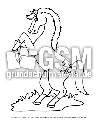 Ausmalbilder Pferde C 1 10 Ausmalbilder Pferde Tiere Zum