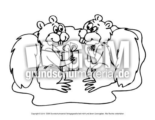 ausmalbildeichhörnchenb 13  eichhörnchen  tiere zum