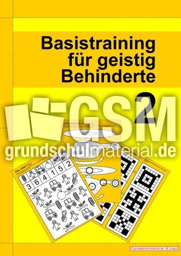 Basistraining für geistig Behinderte 2 - Basistraining-für ...