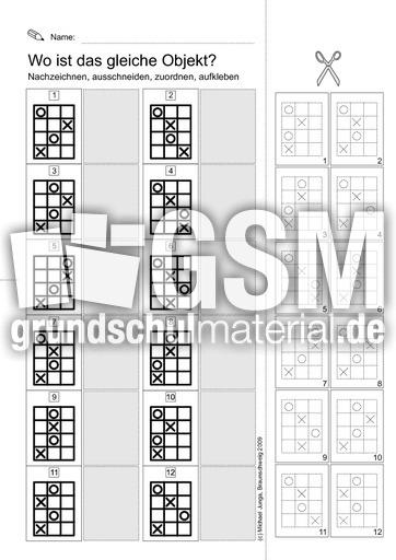 11 feinmotorik vierecke feinmototrische bungen f rdermaterial f r grundschulkinder 3. Black Bedroom Furniture Sets. Home Design Ideas