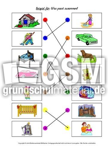 Anfangsunterricht in der Grundschule - Arbeitsblätter-Visuelle ...