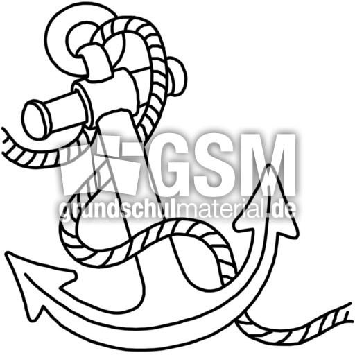 Anker A E Nomengrafiken Zum Ausmalen Material Klasse 1