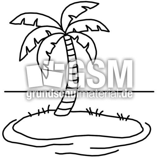 Insel F J Nomengrafiken Zum Ausmalen Material Klasse 1
