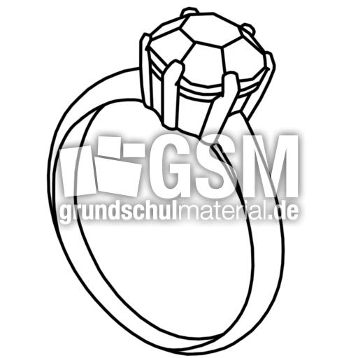 ring - Q-S - Nomengrafiken zum Ausmalen - Material Klasse ...
