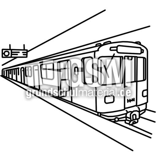 Malvorlage U Bahn Coloring And Malvorlagan