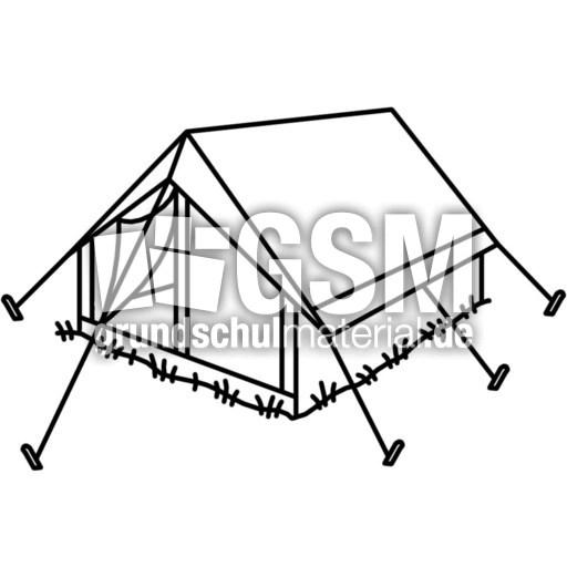 Zelt Zum Ausmalen : Zelt t z nomengrafiken zum ausmalen material