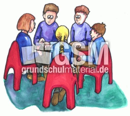 Sitzkreis grundschule  Sitzkreis - Stundenplan - Organisation - Impulsbilder - Material ...