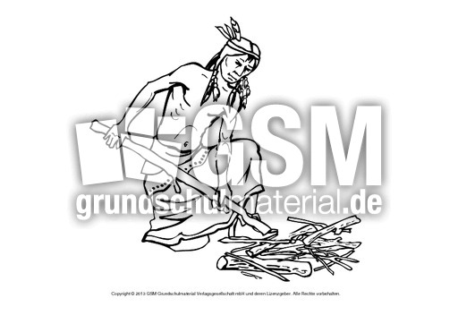 indianer malvorlagen lernen  x13 ein bild zeichnen