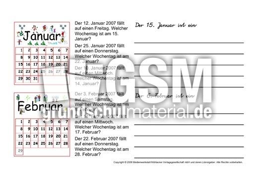 Kalender geburtstag wochentag
