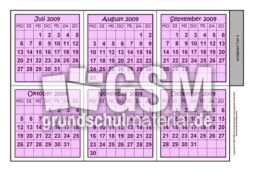 leporellokalender093b leporello 2009 kalender 2009