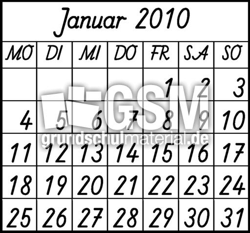 2010-Monate-C_1 - Kalendergrafiken-2010 - Kalender 2010 ...