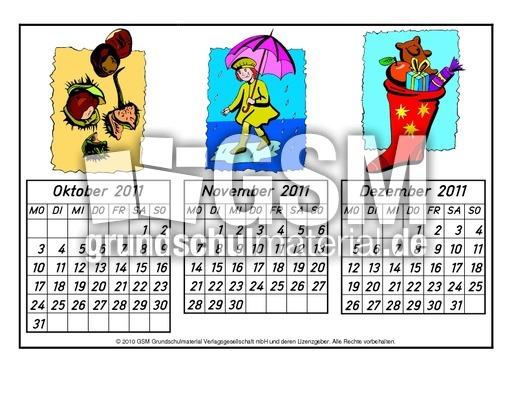 quartalskalender2011a 4 jahreskalender2011 kalender