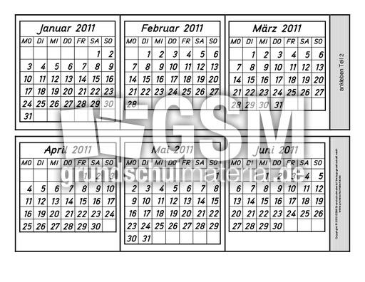 leporellokalender20111 1 kalenderleporello2011