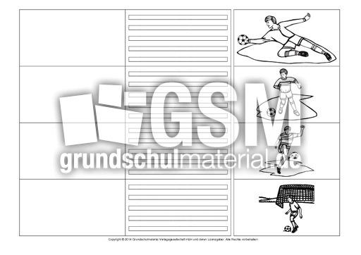 arbeitsblatt vorschule 187 fu223ball bastelvorlage vorstellung