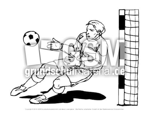 fussball ausmalbilder