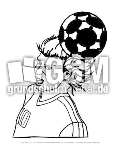 Ausmalbild Fußball 29 Fußball Ausmalbilder Fußball Material
