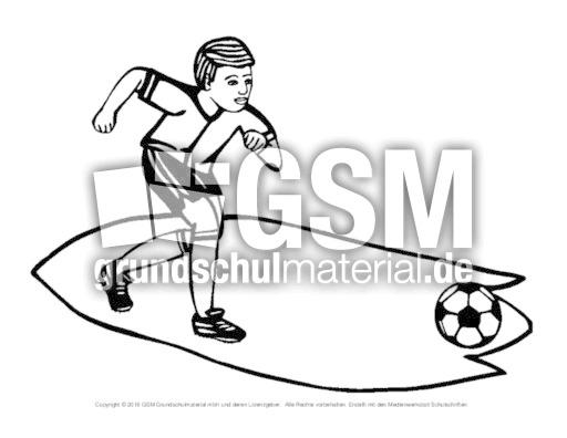 ausmalbildfußball 8  fußballausmalbilder  fußball