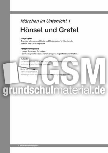 Lieblings Märchen 01 - Hänsel und Gretel - Arbeit mit Märchen - Märchen @MP_11