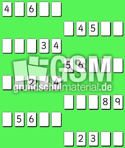 fehlende Zahlen ZR10-8 - fehlende Zahlen ZR 10 color ...