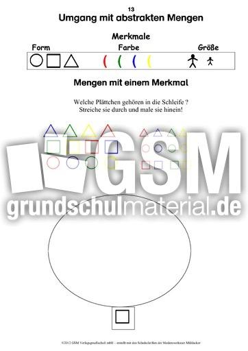 Mathetrainer Vorschule Mengen erfassen - Die Zahlen im ZR 10 ...